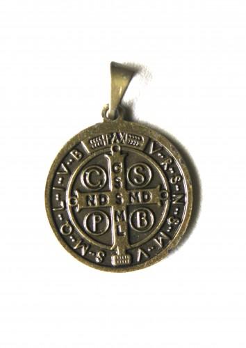 Medalha de São Bento Ouro Velho - 25mm