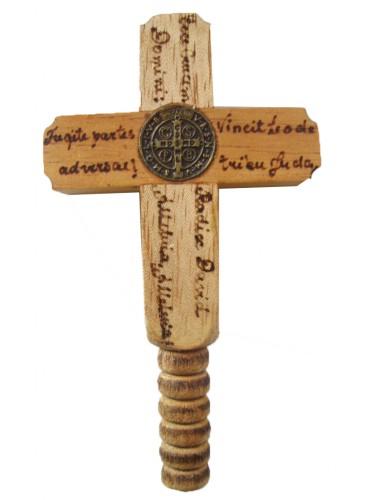 Cruz de mão intercessora de bolso