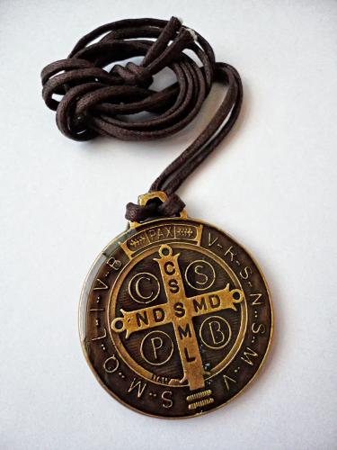 Medalha de São Bento Ivernizada 38mm