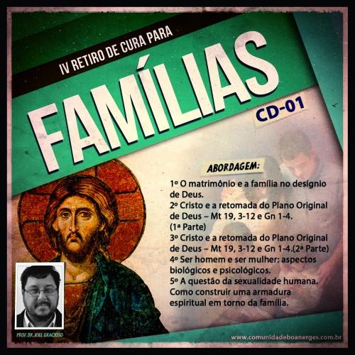 KIT CD - IV RETIRO DE CURA PARA FAMÍLIAS