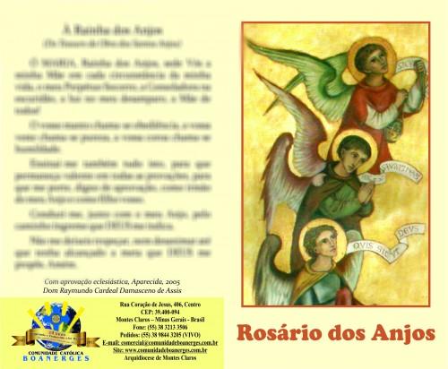 Oração - Rosário dos anjos