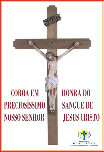 Coroa em Honra ao Preciosíssimo Sangue de Jesus