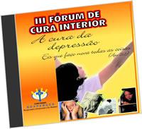 Kit do III Fórum de Cura e Libertação (7 CD's)